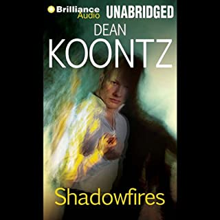 Shadowfires audiobook cover art