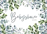 Babyshower Ratespiel: 20 Babyparty Karten zum Ausfüllen für Babyparty Mädchen und Jungen Baby Shower Spiele Ratespiel Geschenk für Schwangere