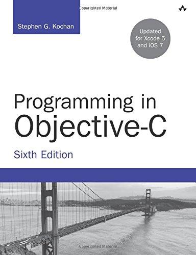 Programming in Objective-C (Developer's Library)
