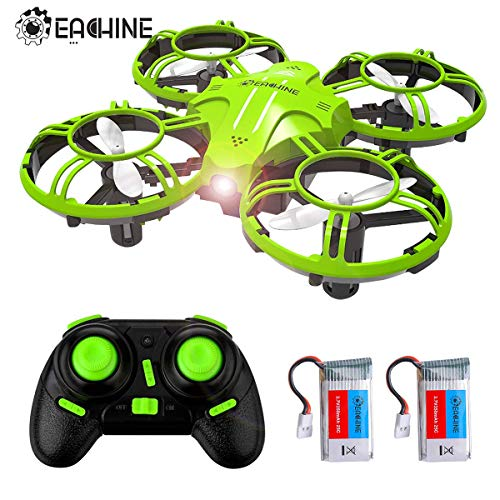 EACHINE E016H Mini Drones for Kids and Beginners,RC Nano Quadcopter with Altitude Hold Function for Beginner,One Key Return and Speed Adjustment and Extra Batteries Easy to Fly