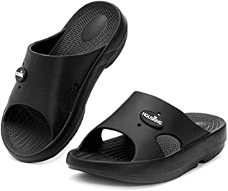 Unisex Slippers Simple Sandals with Arch Support Recovery Shoes