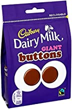 Cadbury Dairy Milk Giant Buttons Chocolate 119g Bag