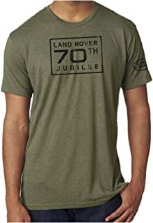 Land Rover Official Merchandise 70th Jubilee Men's Tee