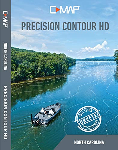 %6 OFF! Lowrance C-MAP Precision Contour HD North Carolina
