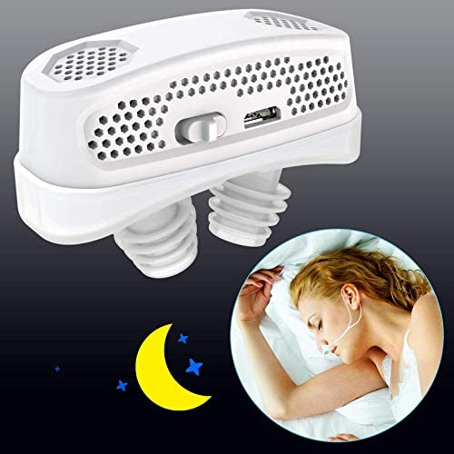 3 in 1 Anti Snoring Devices 2020 Automatic Snore Stopper Air Purifier Filter Snoring Solution product image