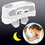 3 in 1 Anti Snoring Devices,2020 Automatic Snore Stopper & Air Purifier Filter, Snoring Solution,Nasal Dilator Nose Vents Plugs for Easing Breathing and Comfortable Sleep(Gift add Fixing Strap)