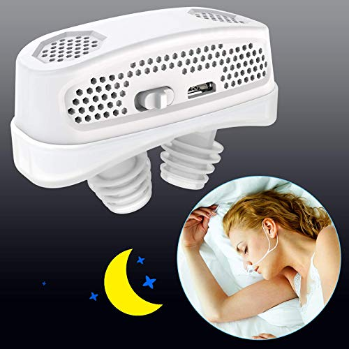 3 in 1 Anti Snoring Devices,2020 Automatic Snore Stopper & Air Purifier Filter, Snoring Solution,Nasal Dilator Nose Vents Plugs for Easing Breathing...