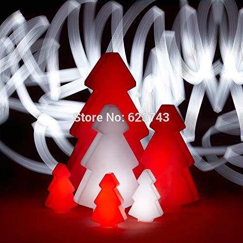 Illuminazione decorativa natalizia per lampada da terra con lampada a cambiamento di colore impermeabile per esterni