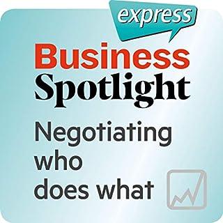 Spotlight express - Mein Alltag: Wortschatz-Training Business-Englisch - Die Verteilung von Aufgaben verhandeln Titelbild
