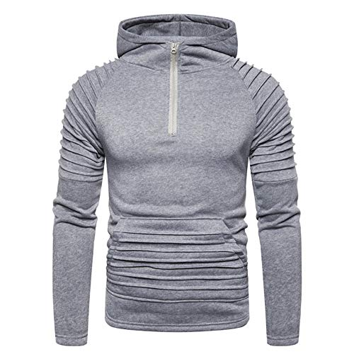ZYYM Men's Gym Hoodie Training Workout Top Men's Pullover Hoodies Sweatshirt Patchwork Top Casual Hoody Fitness and Sports Hooded Top Casual Hooded Jacket Sports Long Sleeve Shirts Outwear Hoody