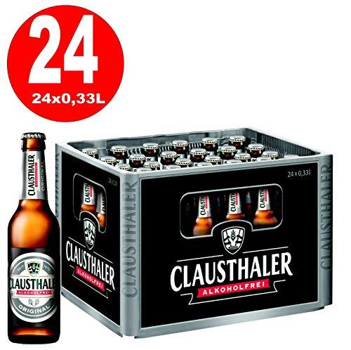24 x Clausthaler ALKOHOLFREI 0,33 L Originalkiste MEHRWEG