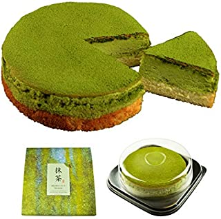 魔法洋菓子店ソルシエ 抹茶 スフレ チーズケーキ 5号 (通常版 : プライム配送のみ)