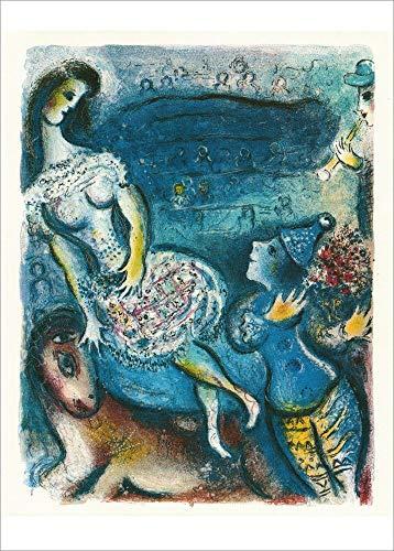 3er-Packung: Kunstkarte Marc Chagall
