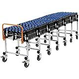 6'2' to 24'8' Portable Flexible & Expandable Conveyor - Nylon Skate Wheels - 175...
