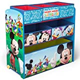 Delta Children 6-Bin Toy Storage Organizer, Disney Mickey Mouse
