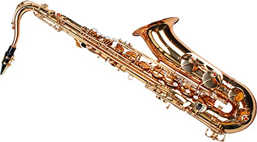 Karl Glaser Tenor Saxophon, gold, mit Koffer