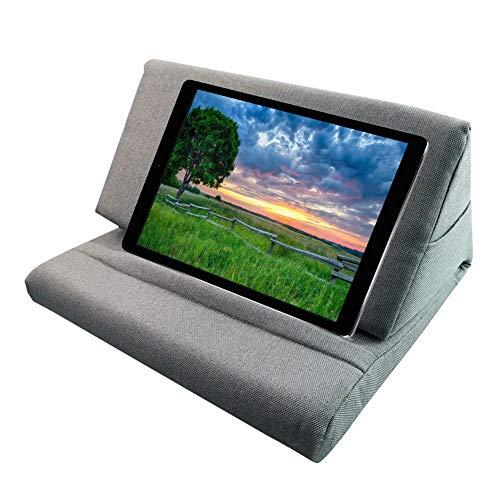 Xploit - Soporte para tablet, cojín para libros, cojín para cojines, soporte para tablet, soporte para cuñas, soporte para cojín suave multiángulo