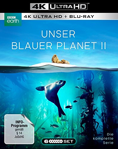 Unser Blauer Planet II [3 Blu-ray-4K Ultra HD + 3 Blu-ray-2D]
