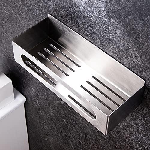 YIGII Duschablage Ohne Bohren - Duschregal Edelstahl Duschkorb Selbstklebend für Badezimmer