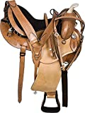 Wonder Wish Premium Western Barrel Racing Horse Trail - Silla de Montar