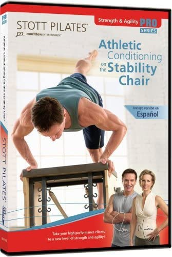 STOTT PILATES Athletic Conditioning on the Stability Chair English Spanish product image