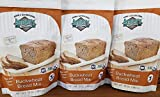 Buckwheat Bread Mix Gluten free, Organic, verified non-GMO, Kosher 2.5 pounds (13 Ounces x 3)