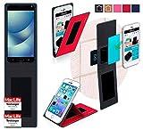 Hülle für Asus Zenfone 4 Pro Tasche Cover Hülle Bumper | Rot | Testsieger