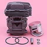 40mm Cilindro Pistón Pin Ring Kit completo piezas de primera clase para Stihl MS201 MS201T 1145 020 1200,1145-020-1200 Motor Motosierra Parte