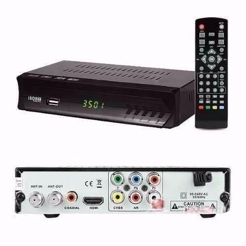 Conversor de TV Digital Com USB Central Multimídia HD 720p PVR EPG ISDBT Time Shift BWX Mx-6901