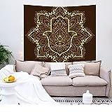 YDyun Tapiz,para Colgar en la Pared,Hecho a Mano,en algodón Puro, Impresión del hogar de la tapicería de la decoración del Dormitorio