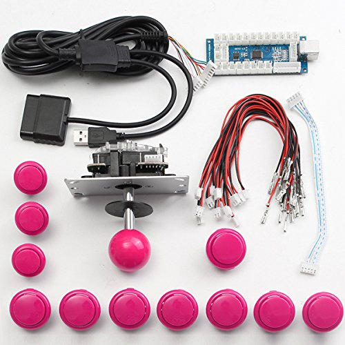 GOZAR Arcade DIY reserveonderdelen set USB Encoder Joystick toetsen voor Windows PS3 voor PS4 Android Smart TV Box
