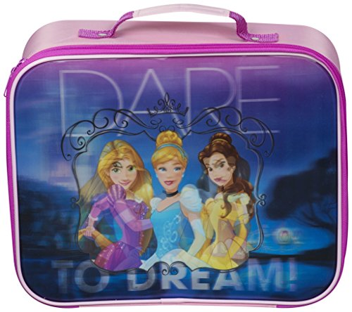Sambro Disney Princess Kids Luggage Travel Suitcase Carry On Cabin Bag Holiday Pull Along Trolley Lighweight Wheeled Holdall