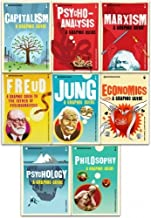Graphic Guide Introduction to Big Ideas 8 Books Collection Set Series 1 (Introducing Freud, Psychology, Philosophy, Capitalism, Marxism, Economics, Jung, Psychoanalysis)