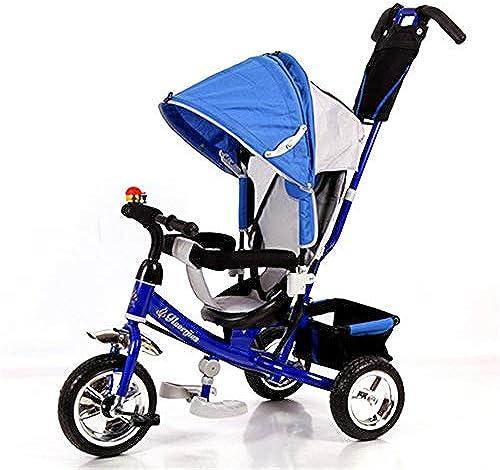 SKYyao Kinderwagen,Sportwagen,Multifunktionales Dreirad Kinderwagen Baby Kinderwagen Baby Fahrrad Kind Kinderfahrrad 71  39  44 cm