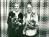 SIV Widerberg und Astrid Lindgren. - Vintage Press Foto