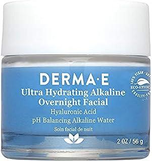 Derma E Ultra Hydrating Alkaline Overnight Hyaluronic Acid Facial, 56 g