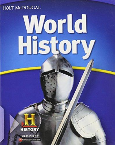 McDougal Littell Middle School World History: Student Edition 2012