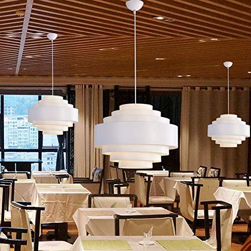 no-branded La luz de la lámpara de Techo Lámpara Colgante nórdico Minimalista de Aluminio Blanco de la lámpara Candelabros YFJFJ Tienda