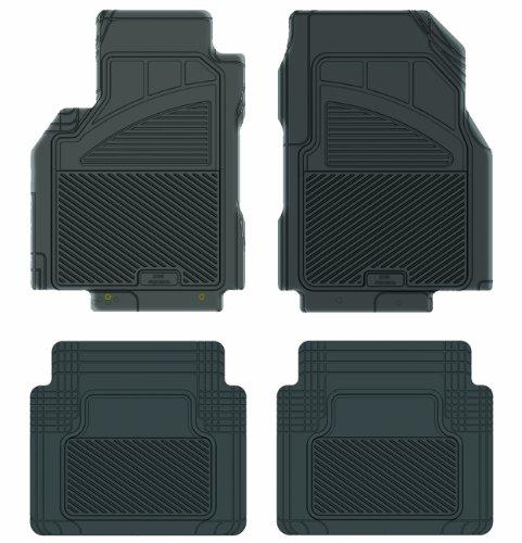 Koolatron Pants Saver Custom Fit 4 Piece All Weather Car Mat for Select Nissan Cube Models (Black)