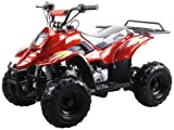 110cc Four Wheelers 6' Tires Atvs, BURGUNDY
