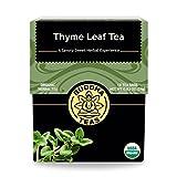 Buddha Teas Organic Thyme Leaf Tea | 18 Bags | Decaffeinated | Aids...