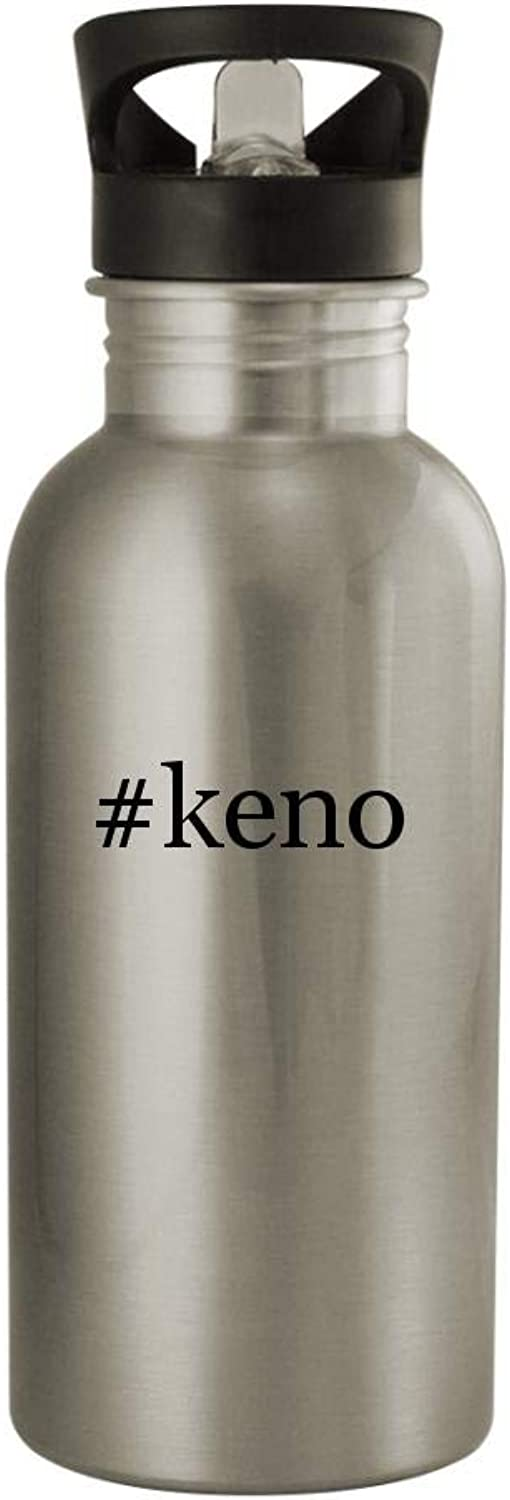Knick Knack Gifts  Keno20oz Sturdy Hashtag Stainless Steel Water Bottle