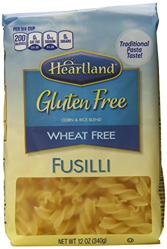 Heartland Gluten Free Fusilli, 12 Ounce (Pack of 6)