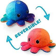 TeeTurtle Reversible Octopus Mini Plush - Stuffed Animal Toy