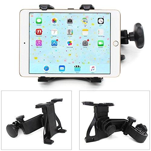 Xcellent Global Support universel de tablette pour appui-tête siège de voiture, rotation à 360 degrés, pour Tablettes iPad, Galaxy Tab, Note, ebook, dispositifs de 7\
