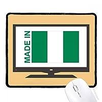 ナイジェリアカントリーラブに マウスパッド・ノンスリップゴムパッドのゲーム事務所