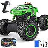 Remote Control Trucks Monster RC Car 1: 12 Scale Off Road Vehicle 2.4Ghz Radio Remote Control Car 4WD High Speed Racing All Terrain Climbing Car Toys Car Gift for Boys
