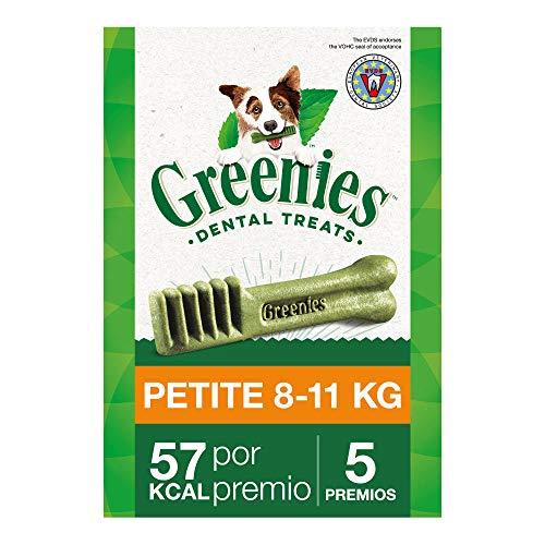 Greenies Snack Dental 100% Natural para Perros Pequeños (Pack de 6 x 85g)