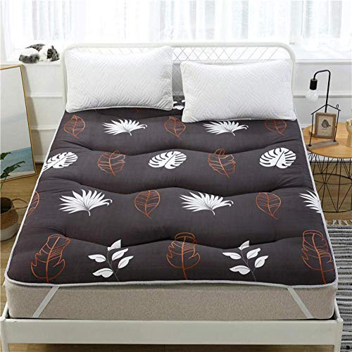 MKXF Colchón Enrollable Plegable para Dormir para huéspedes, niños y Adultos, colchón de futón japonés Grueso