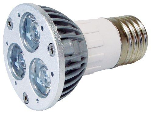 Transmedia LP3-33FL Power Spot LED 230 V 3 x 1 W E27 Blanc Chaud